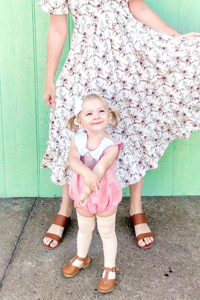 Long Toddler Socks & Collar Onesie 3