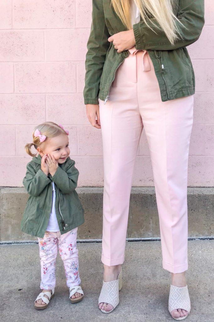 Khaki Anoraks & Pink Pants 1