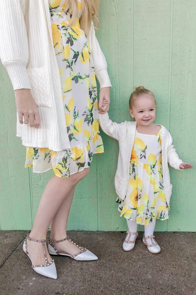Lemon Print Dresses 2