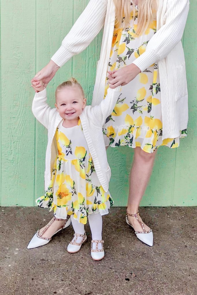 Lemon Print Dresses 3