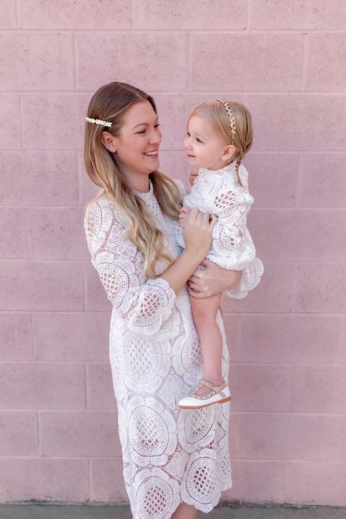 White Crochet Lace Dress 4