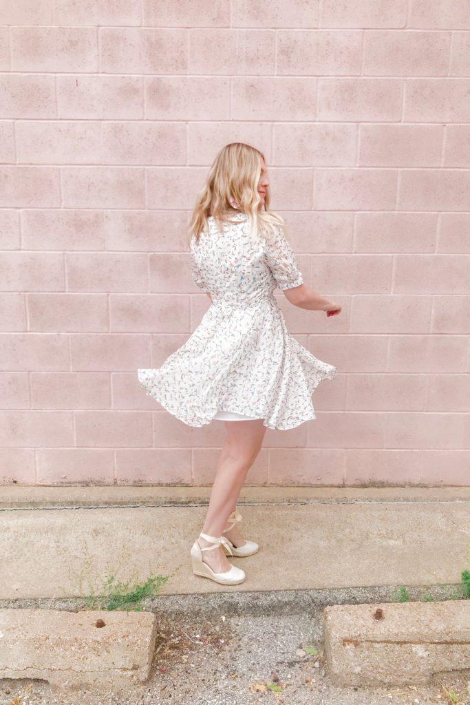 Pastel Floral Dress 5
