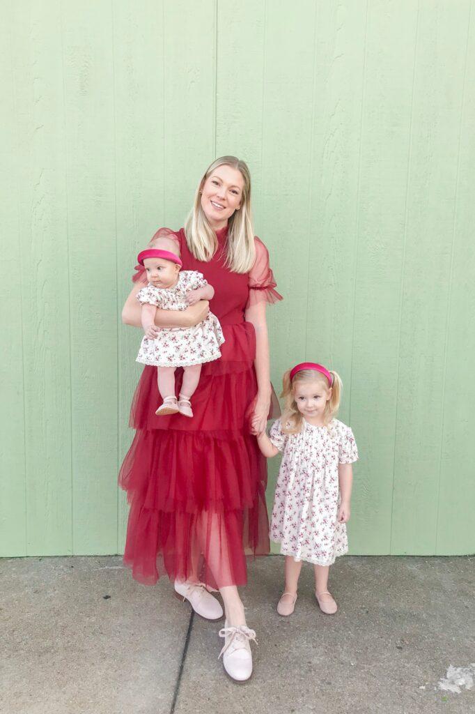 Red Christmas Dress 1
