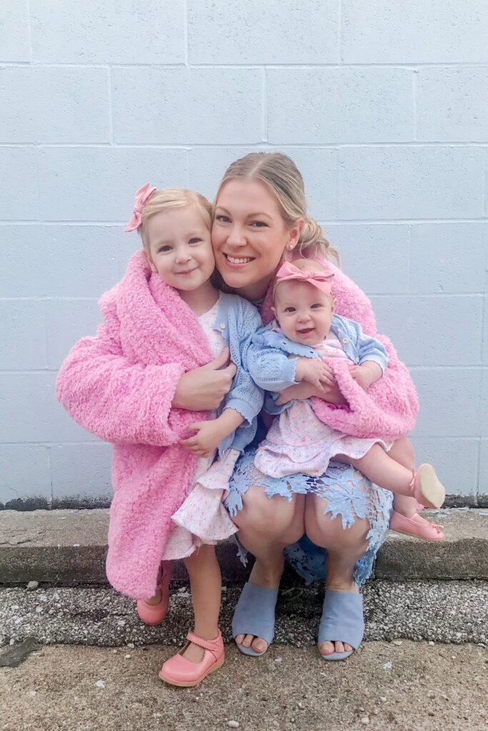 Pink Teddy Coat 4
