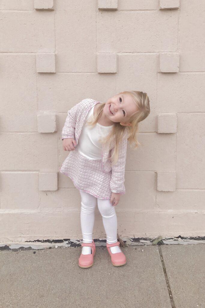 Pink Tweed 1