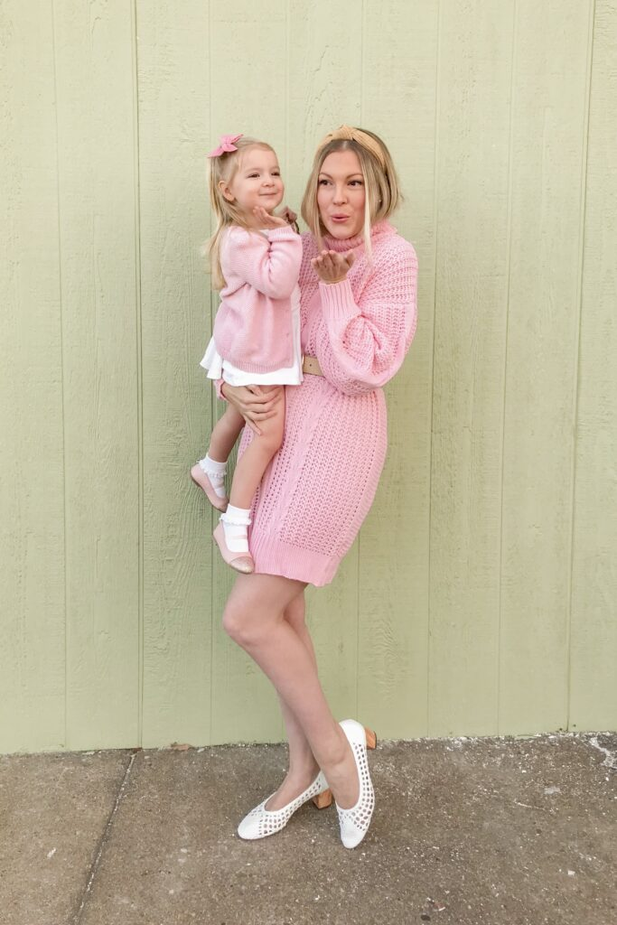 Pink Sweater Dress 5