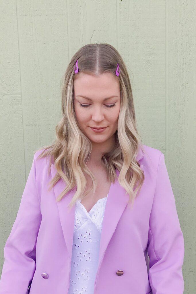 Lilac Purple Blazer 4