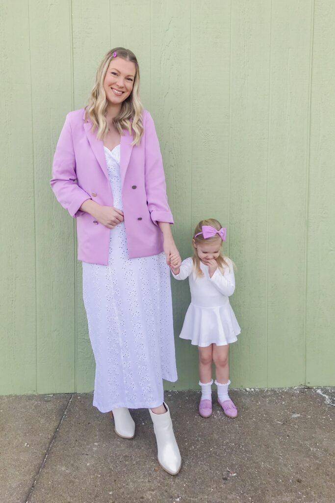 Lilac Purple Blazer 1