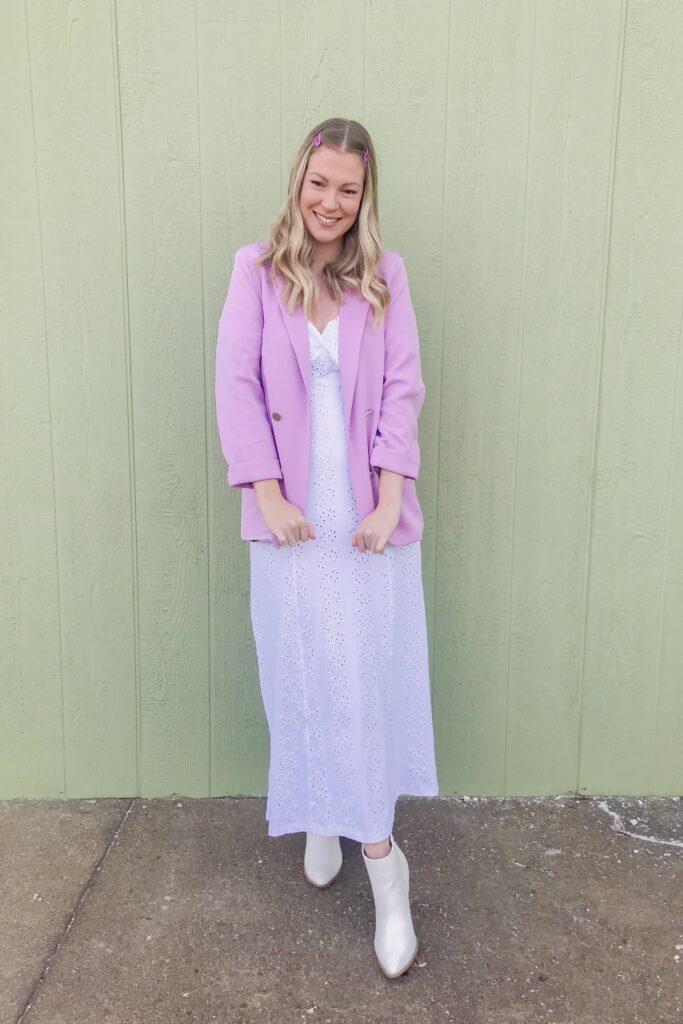 Lilac Purple Blazer 5