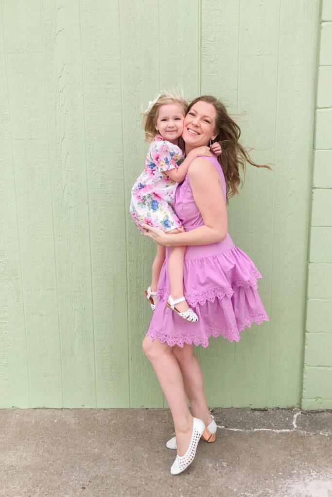 Purple Tiered Dress 2