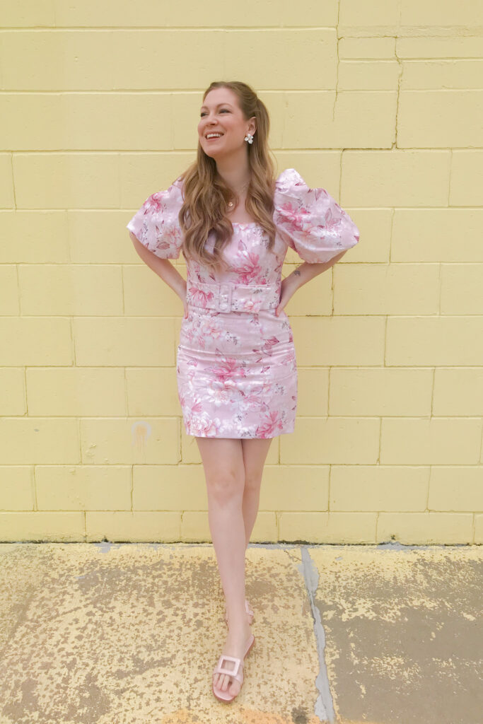 Pink Puff Sleeves 4