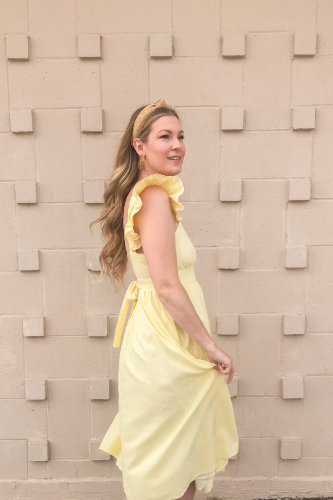 Bow Back Dress 3